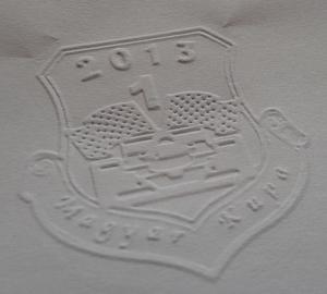 Domborított papír. Trodat Ideal Seal Dombornyomó b4d4db9019